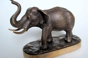 Elephant as a symbol of abundance and prosperity